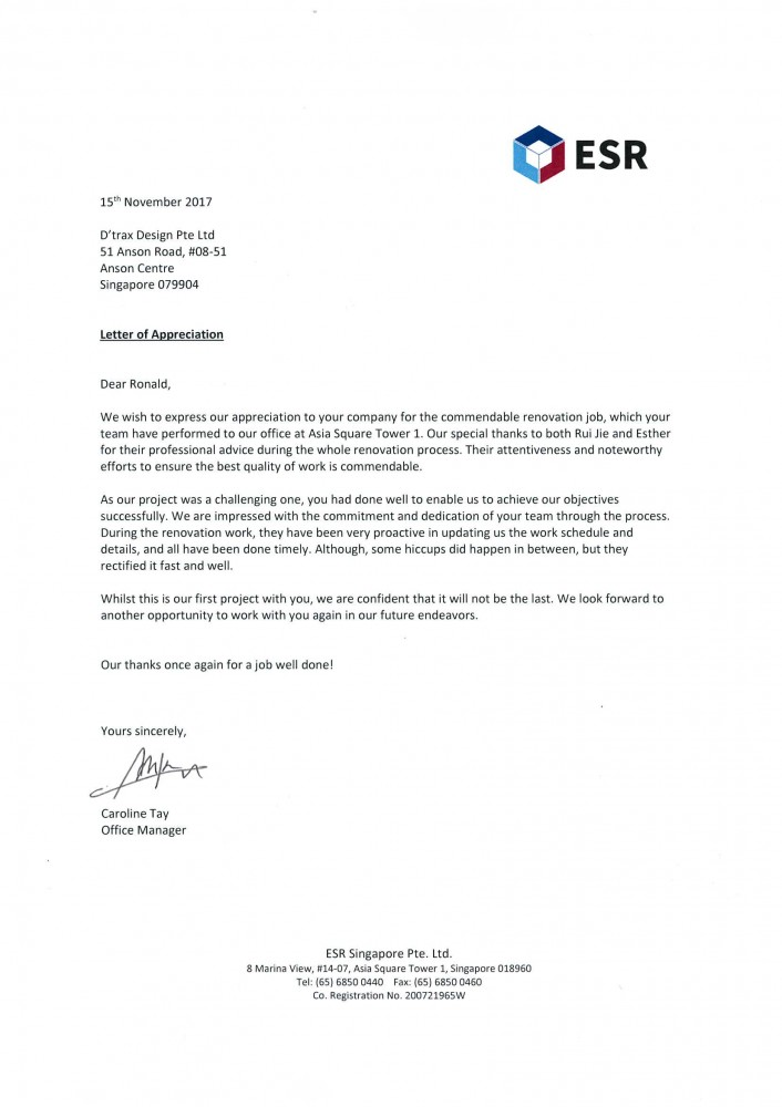 ESR Singapore Pte Ltd